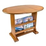 Whitecap Teak Drop Leaf Table